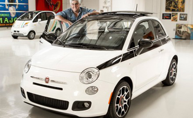 Jay Leno Auctioning His Fiat 500 for Charity