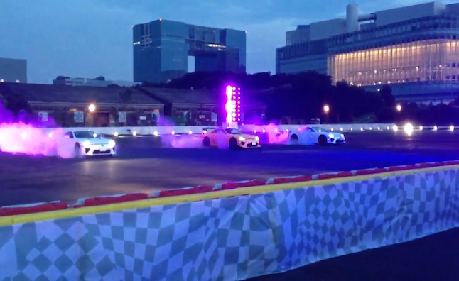 Watch Three Lexus LFAs Dance at the Hands of Performance Drivers