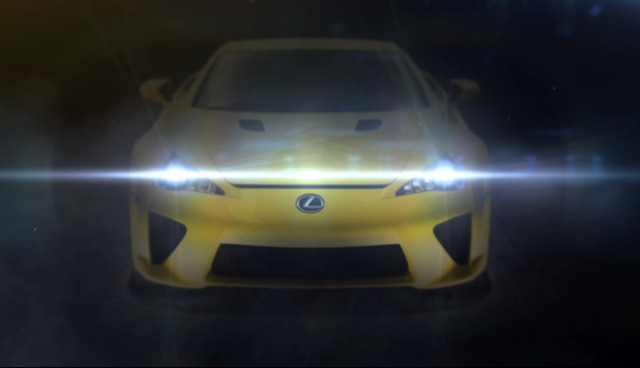 Lexus LFA Mystery Teaser Released