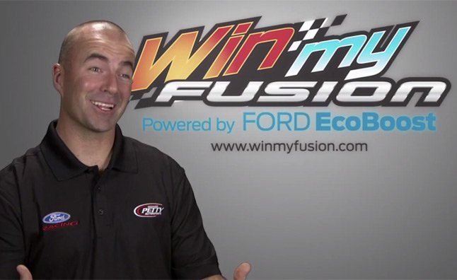 Win a 2013 Ford Fusion Customized by NASCAR Drivers – Videos