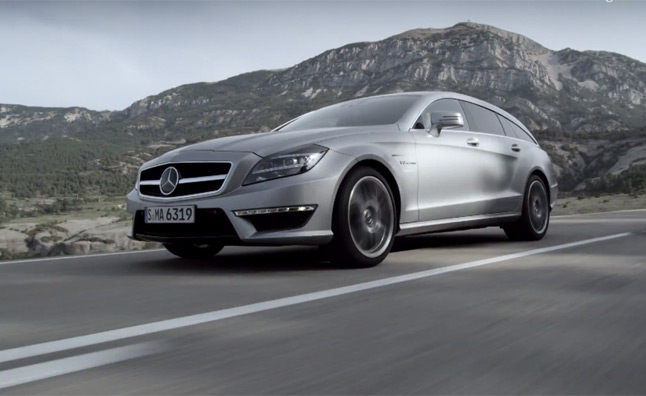 Mercedes CLS 63 AMG Shooting Brake Trailer