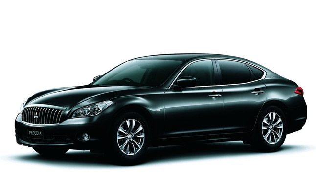 Infiniti M-Based Mitsubishi Proudia and Dignity Revealed