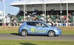 Nissan Leaf Sets New Goodwood Record… in Reverse