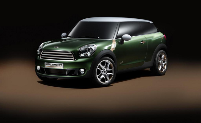 MINI Paceman Confirmed as Brand's Seventh Model