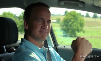 Peyton Manning Stars in New Buick Commercial