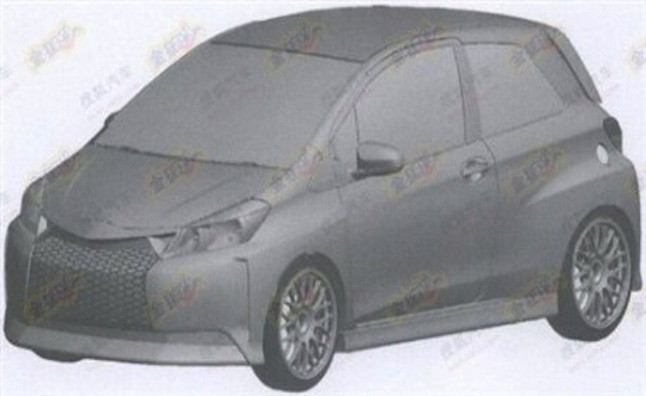 Toyota Yaris With Lexus-Style Spindle-Grille Spotted in Chinese Diagrams