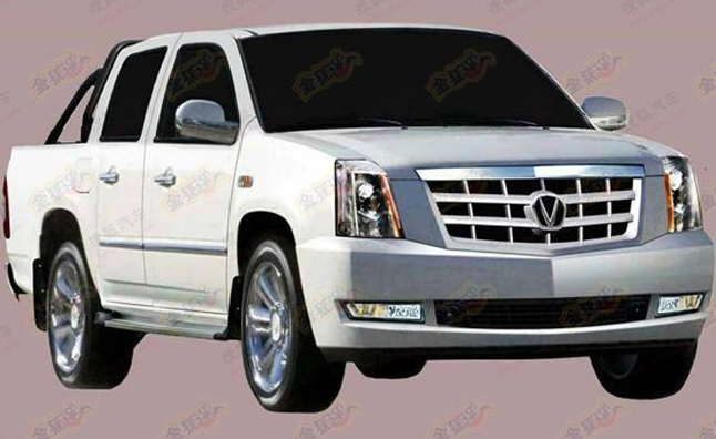 Cadillac Escalade EXT Ripoff From China is Hilarious