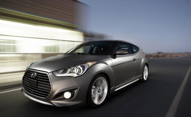 2013 Hyundai Veloster Gets Summer Tires as Option