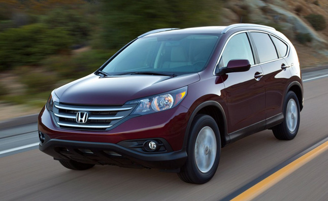 Honda Ups Target 25% on Strong Civic, CR-V Sales