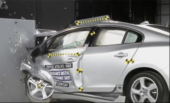2012 Volvo S60 Earns Top Rating in IIHS New Crash Test  Video