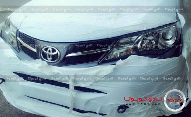 2013 Toyota RAV4 Spotted by Saudi Forum Member