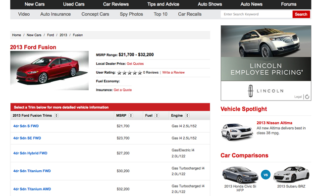 shop for new cars at autoguide.com