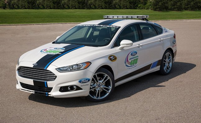 Win a 2013 Ford Fusion NASCAR Pace Car