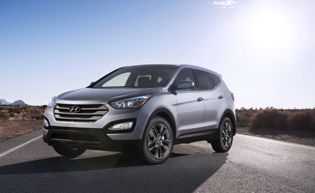 2013 Hyundai Santa Fe Priced from $24,450