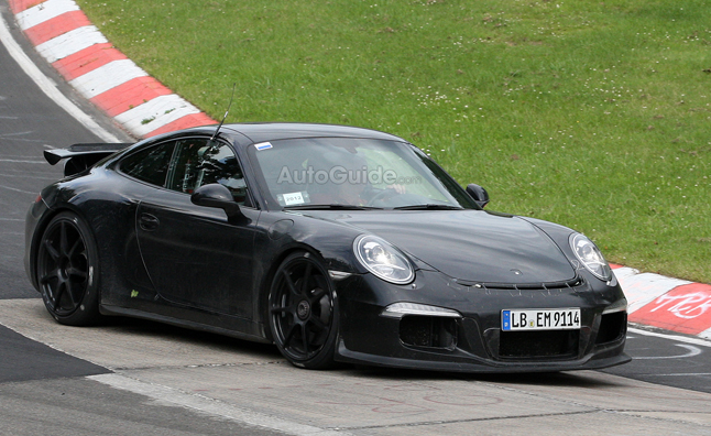 2013 Porsche 911 GT3 Spy Photos are Clearest Yet