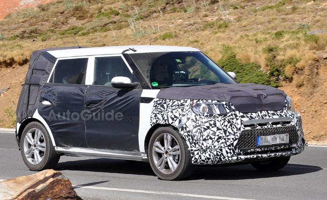 2014 Kia Soul Makes Appearance in Spy Photos