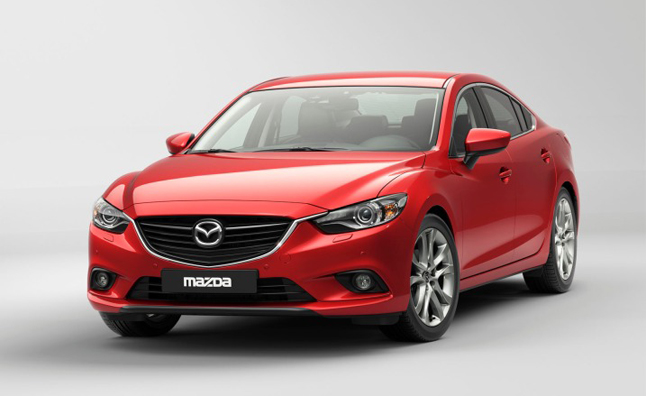 2014 Mazda6 Officially Revealed With New 2.5L SkyActiv Engine