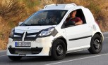 Smart ForTwo Spy Photos Show Next Gen Mule