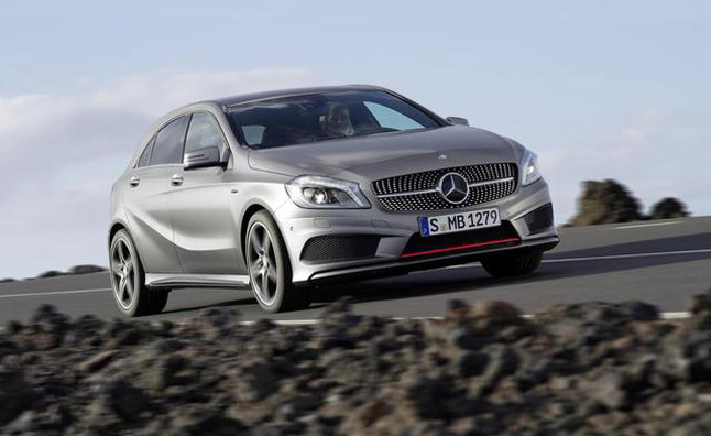 Mercedes A-Class to Hit U.S. Dealers in 2014