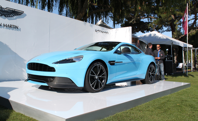 Aston Martin Vanquish Adds Touch of Class to Monterey