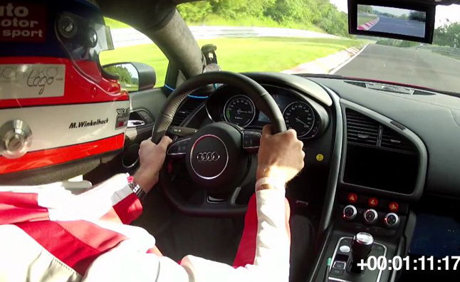 Audi R8 e-Tron Sets Nurburgring Record- Video