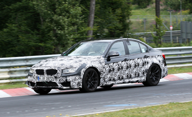 2014 BMW M3 Spied on the Nurburgring
