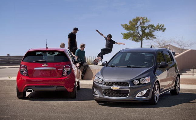 2013 Chevrolet Sonic RS Gets Base MSRP of $20,995