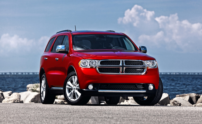 2013 Dodge Durango Recalled for Airbag Malfunction