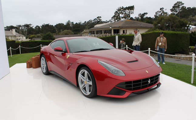 Ferrari F12 Berlinetta makes North American Debut at Pebble Beach