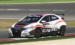 Honda Tests New Turbo Engine in Civic WTCC Racer