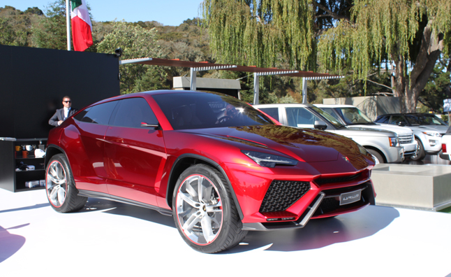 Lamborghini Urus in the Flesh at Pebble Beach