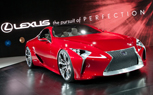 Lexus CX, CT-F and Production LF-LC Among Rumored Paris Motor Show Debuts