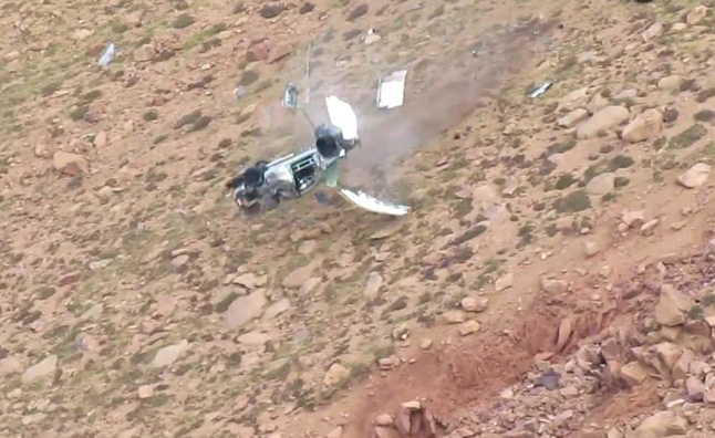 Pikes Peak Racer Survives Wicked Crash – Video