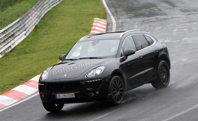 Porsche Macan Spy Photos Reveal Interior Style