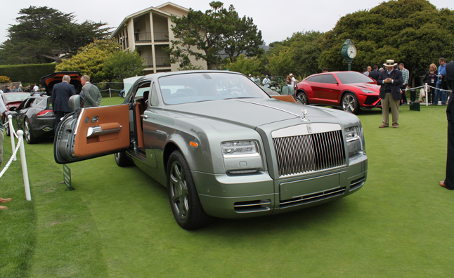 Rolls Royce Phantom Coupe Aviator Collection on the Concept Lawn of Pebble Beach