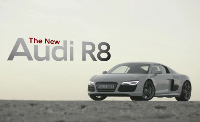 2013 Audi R8 Features and Tech Detailed in Video