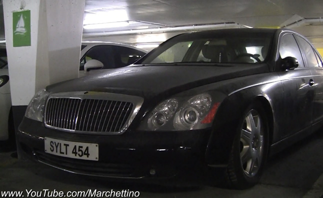 Maybach 57 Found Abandoned in France  Video