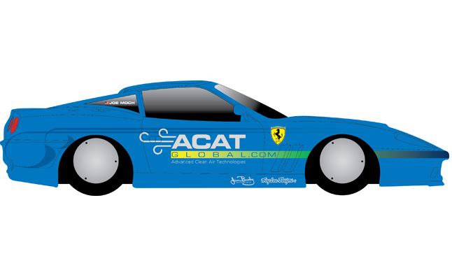Ferrari 575 to Attempt to Break 232-MPH Land Speed Record