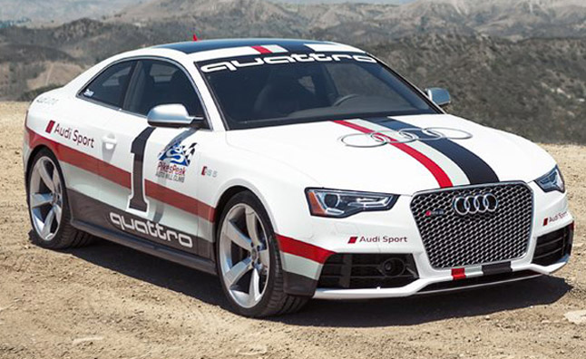 Audi RS5 Pikes Peak Racer Unveiled