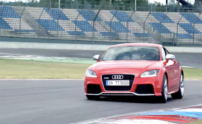 Audi TT RS Gets Compared to 90 Quattro Race Car – Video