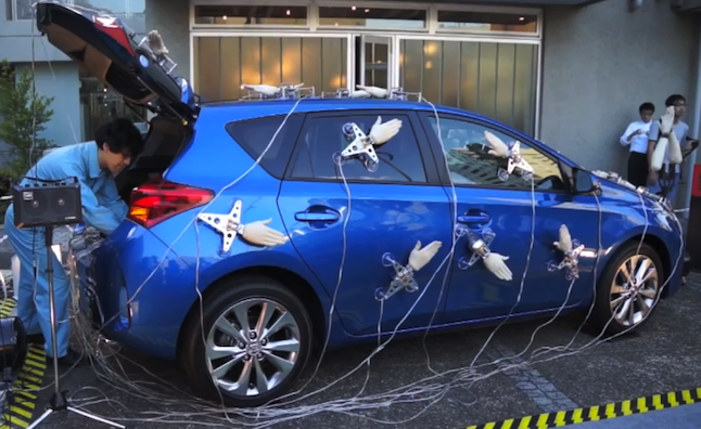 Toyota Auris Stars in Japanese 'Spanking Orchestra'