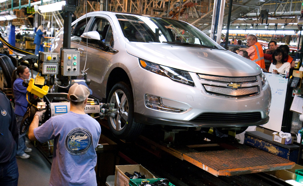 Volt Production Scheduled to Stop for Second Time in 2012