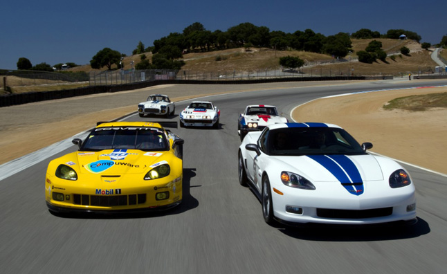 Chevy Corvette to be Featured Marque at 2013 Rolex Monterey Motorsports Reunion