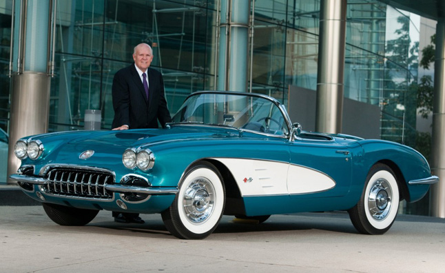 GM CEO Dan Akerson Auctioning Personal 1958 Corvette