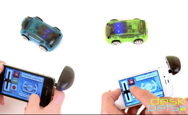 CarBot Remote Controlled Cars Work Off Your Smartphone – Video