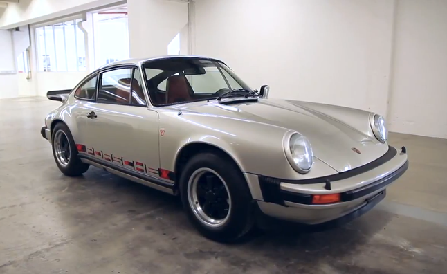 Porsche Secret Warehouse Collection Shown in Video