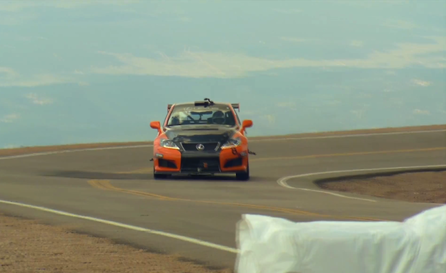 Lexus Shows Off IS-F Pikes Peak Vehicle