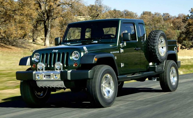 Jeep Wrangler Pickup a Possibility says President