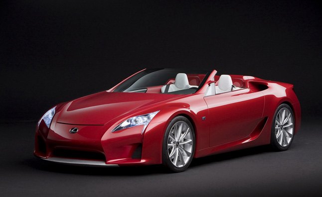 Lexus LFA Roadster Confirmed for 2014