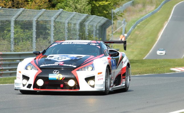Lexus LFA Racing Heritage Detailed in Video
